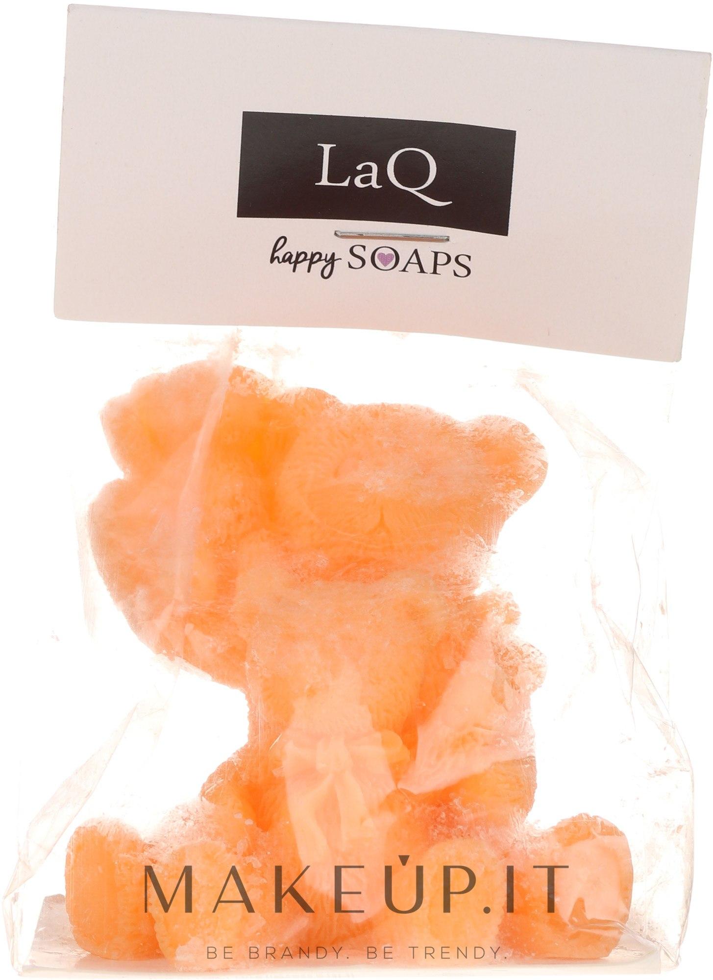 """Sapone naturale """"Te orsacchiotti"""", arancione - LaQ Happy Soaps — foto 80 g"""