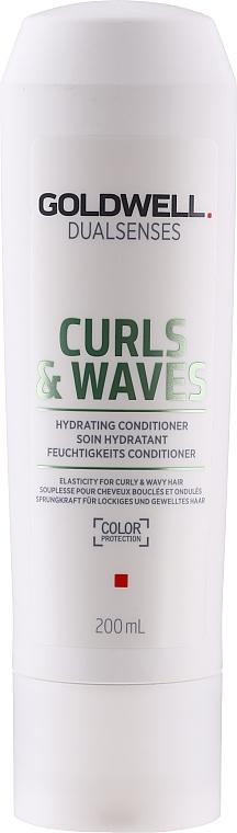 Balsamo per capelli ricci - Goldwell Dualsenses Curls & Waves Conditioner