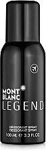 Profumi e cosmetici Montblanc Legend - Deodorante spray