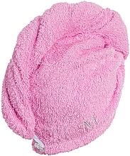 Asciugamano turbante, rosa - MakeUp — foto N3