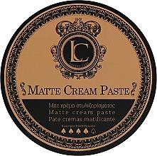 Profumi e cosmetici Pasta opaca a tenuta forte per uomo - Lavish Care Matte Cream Paste