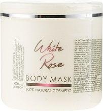"""Profumi e cosmetici Maschera viso e corpo """"Rosa bianca"""" - Sezmar Collection Professional Body Mask White Rose"""