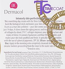 Crema viso, da giorno - Dermacol Time Coat Intense Perfector Day Cream SPF 20 — foto N3