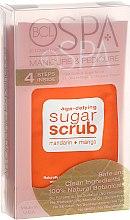 Profumi e cosmetici Set - BCL SPA Manicure & Pedicure Mandarin + Mango (scr/28gr + salt/14gr + mask/15ml + cream/15ml)