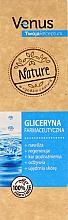 Profumi e cosmetici Glicerina farmaceutica - Venus Nature Your Recipe Pharmaceutical Glycerin