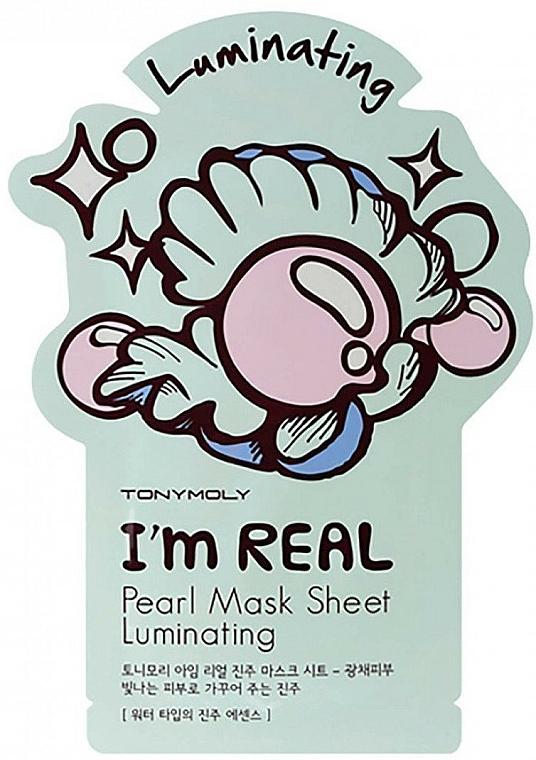 Maschera viso in tessuto all'estratto di perla - Tony Moly I Am Pearl Sheet Mask