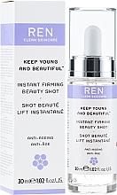Profumi e cosmetici Siero viso - Ren Keep Young and Beautiful Instant Firming Beauty Shot