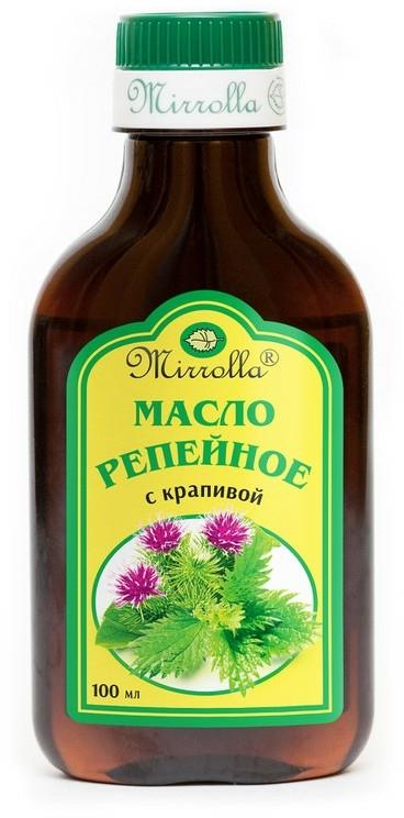 Olio di bardana con ortica - Mirrolla