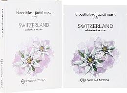 "Profumi e cosmetici Maschera in tessuto ""Svizzera"" - Calluna Medica Switzerland Lifting Biocellulose Facial Mask"