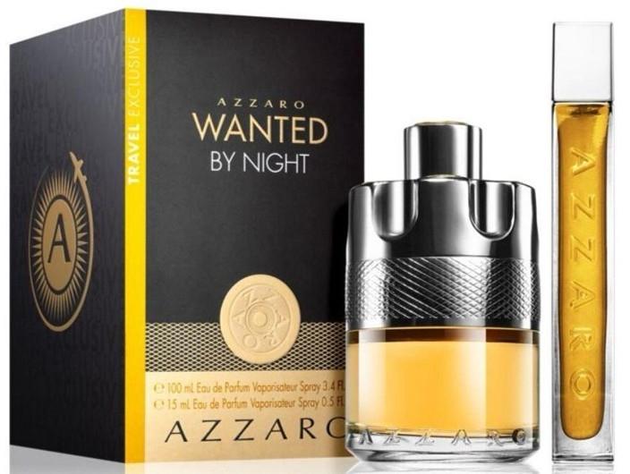 Azzaro Wanted By Night - Set (edp/100ml + edp/15ml)