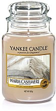 "Profumi e cosmetici Candela profumata ""Cashmere scuro"" - Yankee Candle Warm Cashmere"
