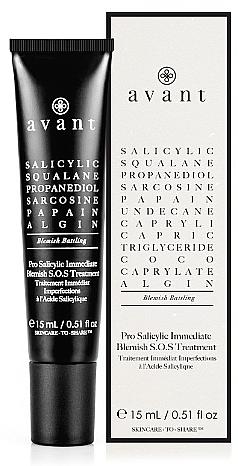 Trattamento anti acne all'acido salicilico - Avant Pro Salicylic Immediate Blemish S.O.S Treatment — foto N1