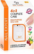 Profumi e cosmetici Smalto trattamento rinforzante per unghie - Golden Rose Nail Expert 4 in 1 Complete Care