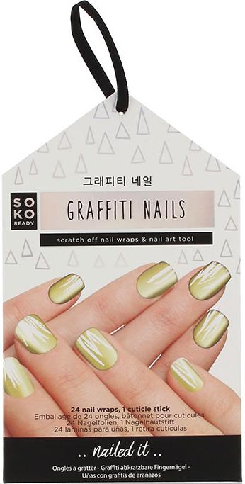 Lamina per il design delle unghie - Soko Ready Graffiti Nails — foto N1