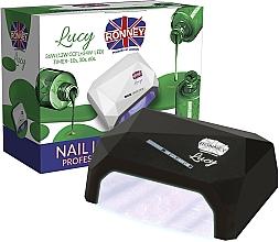 Profumi e cosmetici Lampada CCFL + LED, nera - Ronney Profesional Lucy CCFL + LED 38W (GY-LCL-021) Lamp