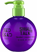 Profumi e cosmetici Crema nutriente per lo styling e volume dei capelli - Tigi Bed Head Small Talk 3-in-1 Thickifier