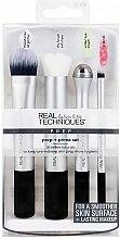 Profumi e cosmetici Set pennelli per fondotinta - Real Techniques by Sam and Nic Prep + Prime Set
