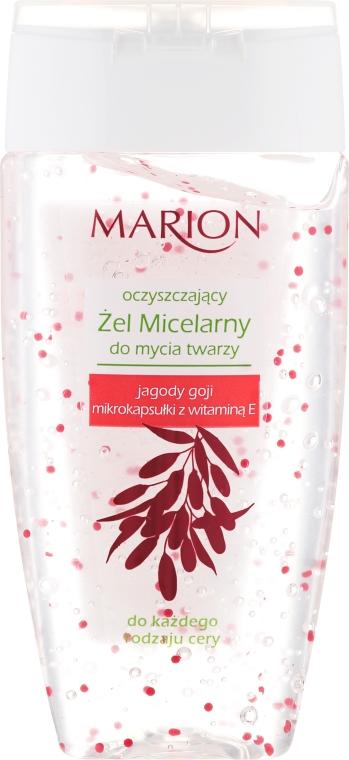 Gel micelare struccante con bacche di Goji e vitamina E - Marion Micelar Gel