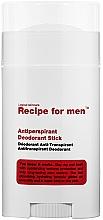 Profumi e cosmetici Deodorante antitraspirante - Recipe For Men Antiperspirant Deodorant Stick