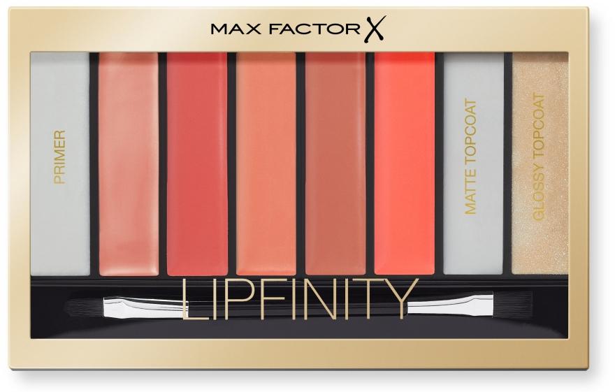 Palette rossetti - Max Factor Lipfinity Palette