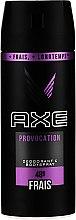 Profumi e cosmetici Antitraspirante - Axe Provocation Men Deodorant Bodyspray