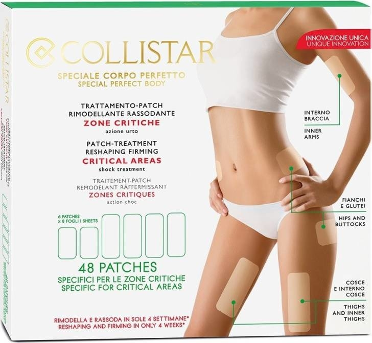 Trattamento patch rimodellante rassodante - Collistar Speciale Corpo Perfetto Patch-Treatment Reshaping Firming Critical Areas