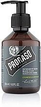 Profumi e cosmetici Shampoo per barba - Proraso Cypress & Vetyver Beard Shampoo