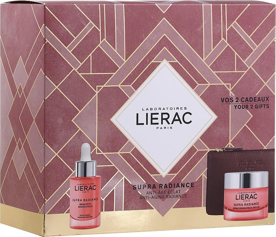 Set - Lierac Supra Radiance (serum/30ml + cr/50ml + bag)