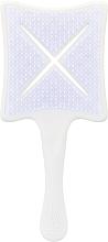 Profumi e cosmetici Spazzola per capelli - Ikoo Paddle X Classic Platinum White