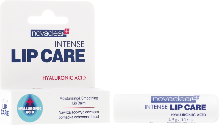Balsamo labbra con acido ialuronico - Novaclear Intense Lip Care