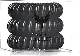 Profumi e cosmetici Elastici a spirale per capelli, neri - HH Simonsen Hair Cuddles Black