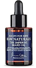Profumi e cosmetici Olio per barba - Recipe For Men RAW Naturals The Imperial Beard Oil
