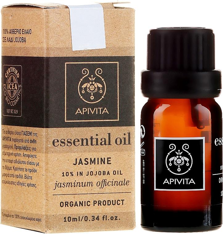 "Olio essenziale ""Jasmine"" - Apivita Aromatherapy Organic Jasmine Oil — foto N1"