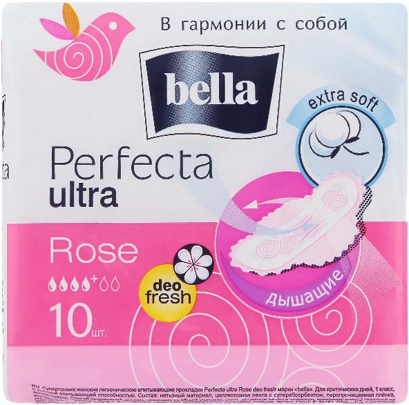 Assorbenti Perfecta Rose Deo Fresh Drai Ultra, 10pz - Bella