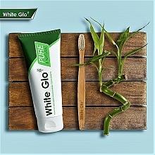 """Set """"Pulizia naturale"""" con spazzolino di bambù - White Glo Pure & Natural (t/paste/85ml + t/brush/1) — foto N2"""
