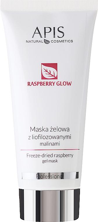 Maschera viso al lampone liofilizzato - Apis Professional Raspberry Glow Freeze-Dried Rasberry Gel Mask