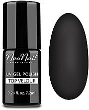 """Profumi e cosmetici Top per smalto gel """"Matte finish"""" (effetto velour) - NeoNail Professional Top Matte Velour Uv Gel Polish"""