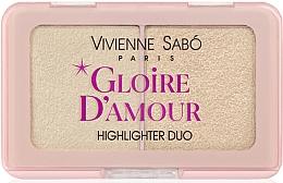 Profumi e cosmetici Palette illuminanti - Vivienne Sabo Vs Gloire D'Amour (01 -Rosa chiaro)