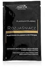 Profumi e cosmetici Chiarificante capelli - Joanna Professional Platinum Classic Lightener (sashet)