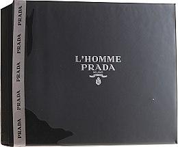 Profumi e cosmetici Prada L'Homme Prada - Set (edt/50ml + sh/g/100ml)