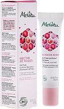 Profumi e cosmetici Gel contorno occhi rinfrescante - Melvita Nectar De Rose Fresh Eye-Countour Gel