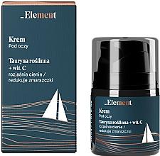 Profumi e cosmetici Crema contorno occhi antirughe con taurina e vitamina C - _Element Men Eye Cream