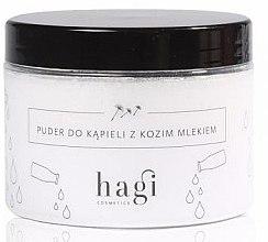 Profumi e cosmetici Polvere da bagno con latte di capra - Hagi Bath Puder