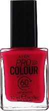 """Profumi e cosmetici Smalto per unghie """"60 secondi"""" - Avon Pro Colour In 60 Seconds Nail Enamel"""