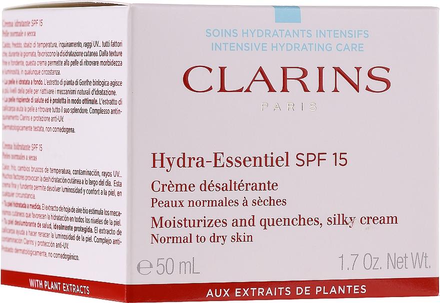 Crema idratante per la pelle normale e secca - Clarins Hydra-Essentiel Silky Cream SPF 15 Normal to Dry Skin — foto N1