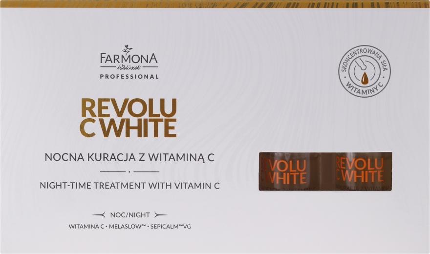 Concentrato per la notte con la vitamina C - Farmona Revolu C White