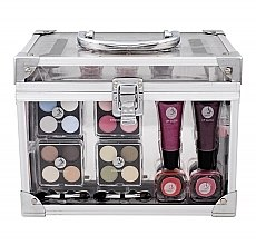 Profumi e cosmetici Kit trucco - Makeup Trading Crystal Beauty Train Case Transparent
