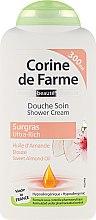 """Profumi e cosmetici Crema doccia """"Mandorle"""" - Corine De Farme Shower Cream"""