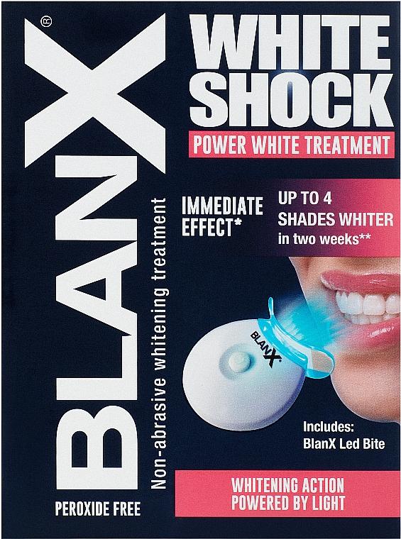 Dentifricio - BlanX White Shock Treatment + Led Bite