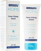 Profumi e cosmetici Detergente per viso e corpo - Novaclear Atopis Face&Body Wash